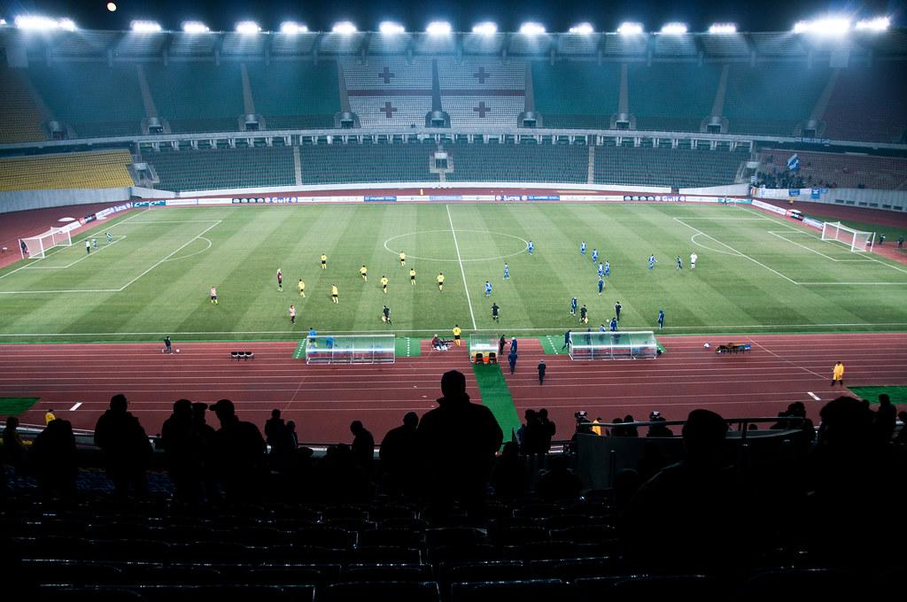 FC Dinamo Tbilisi gegen FC Kolcheti 1913 Poti