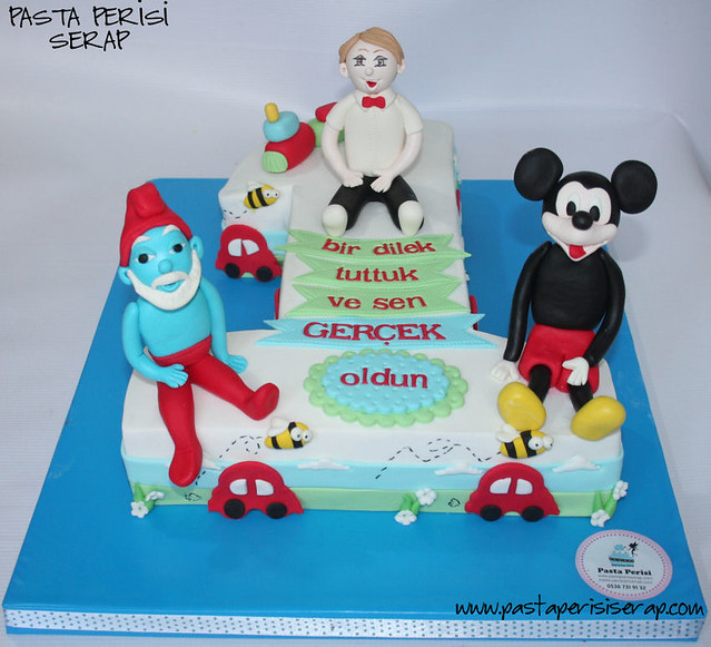 1 yaş pastası- Batuhan