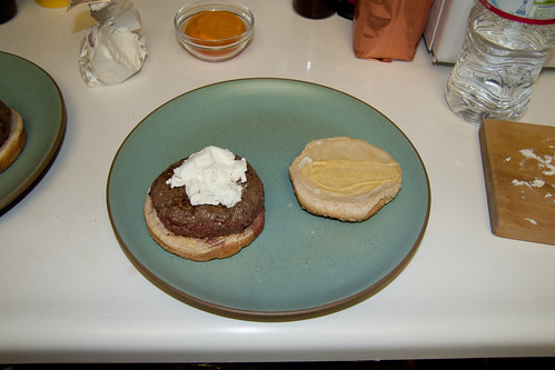 Chèvre on the Burger