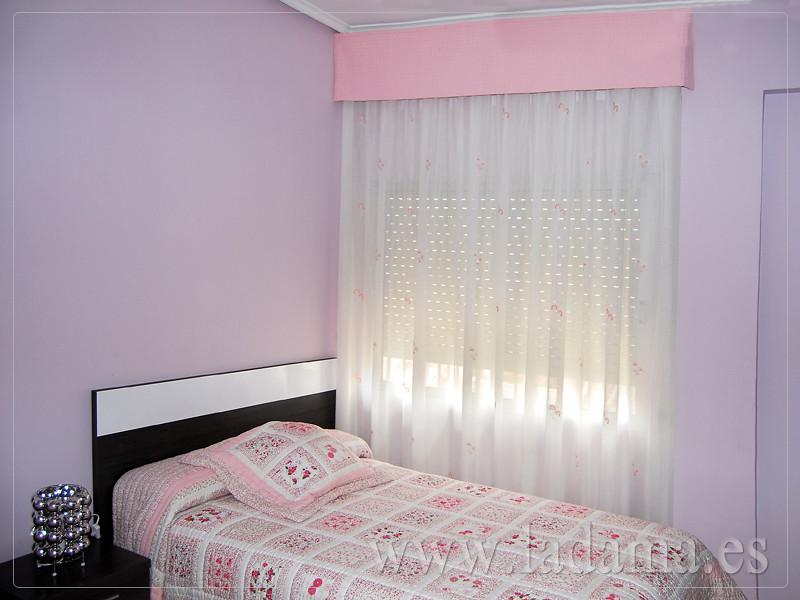 Fotograf as de dormitorios cl sicos la dama decoraci n - Bandos para cortinas ...