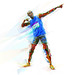 Usain Bolt: The Gatorade portrait