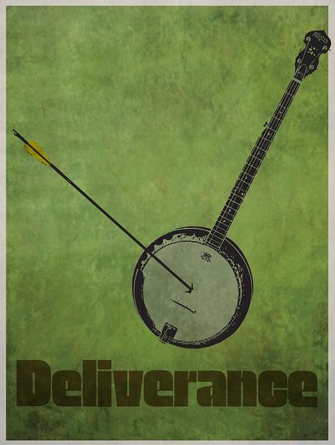 Deliverance Minimalist Movie Poster