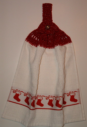 More Crocheted Towel Toppers