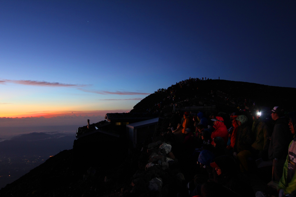 Mt. Fuji experience report (Yoshida route) Part3 (6)
