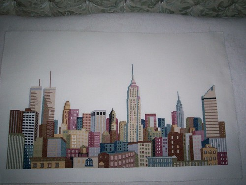 NY Skyline- Completed (2nd look)