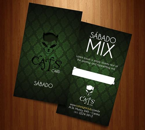 Cartão Cats by chambe.com.br