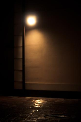 Dark street by Valentyn Chub