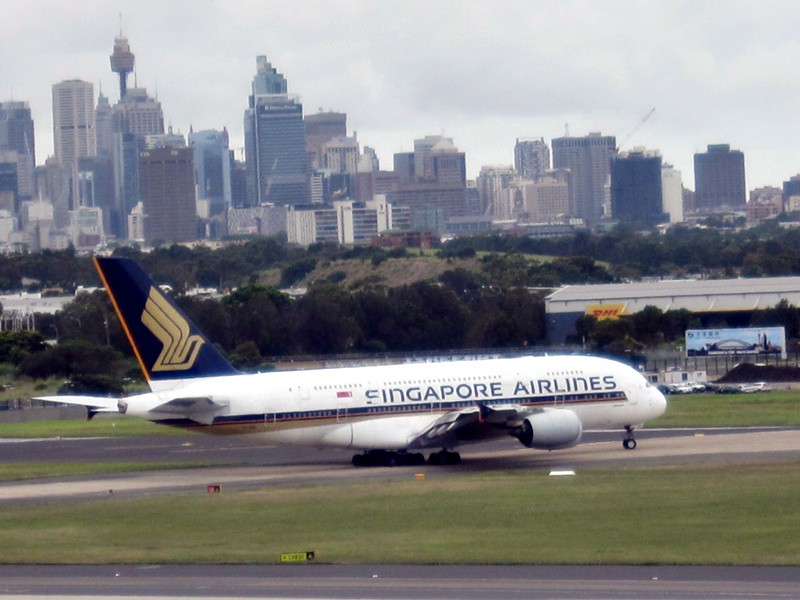 Review Of Qantas Flight From Sydney To Singapore In Economy
