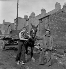Horse and cart, Newcastle upon Tyne