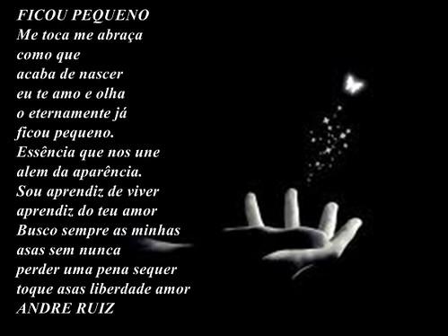 FICOU PEQUENO by amigos do poeta