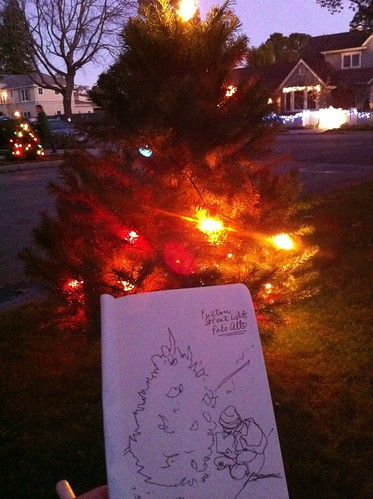 Drawing Christmas Lights by apple-pine