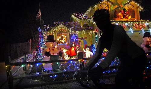 Christmas light ride 2