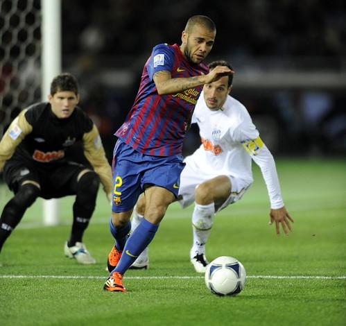 Dani Alves Piala Dunia Antar Club 2011