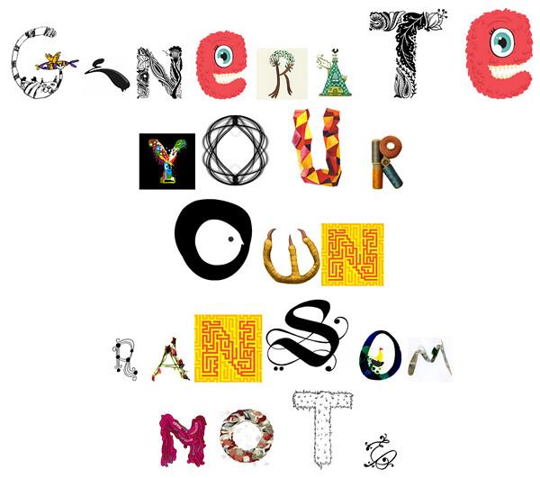 ransom note generator | Flickr - Photo Sharing!