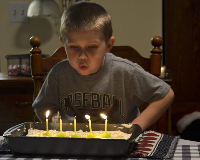 Gavin is Five
