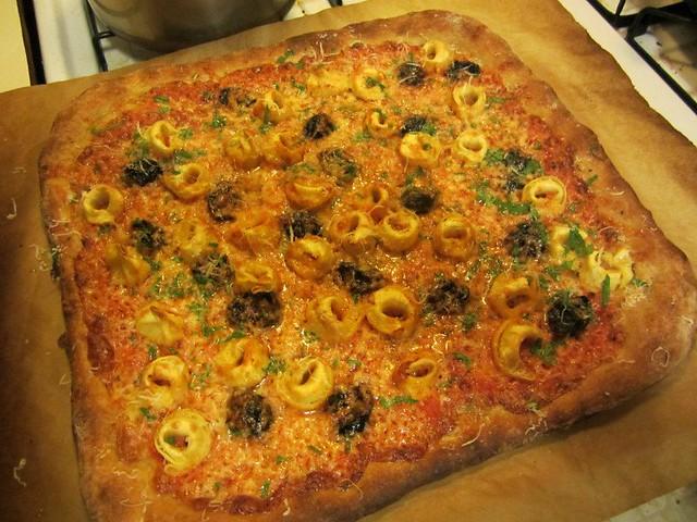 tortellini pizza