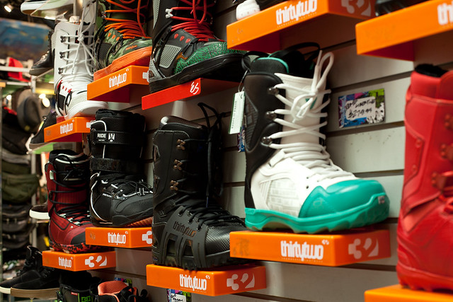 Snowboard Boots at Evolution Whistler