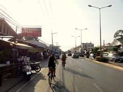 Fietsen door Ayutthaya