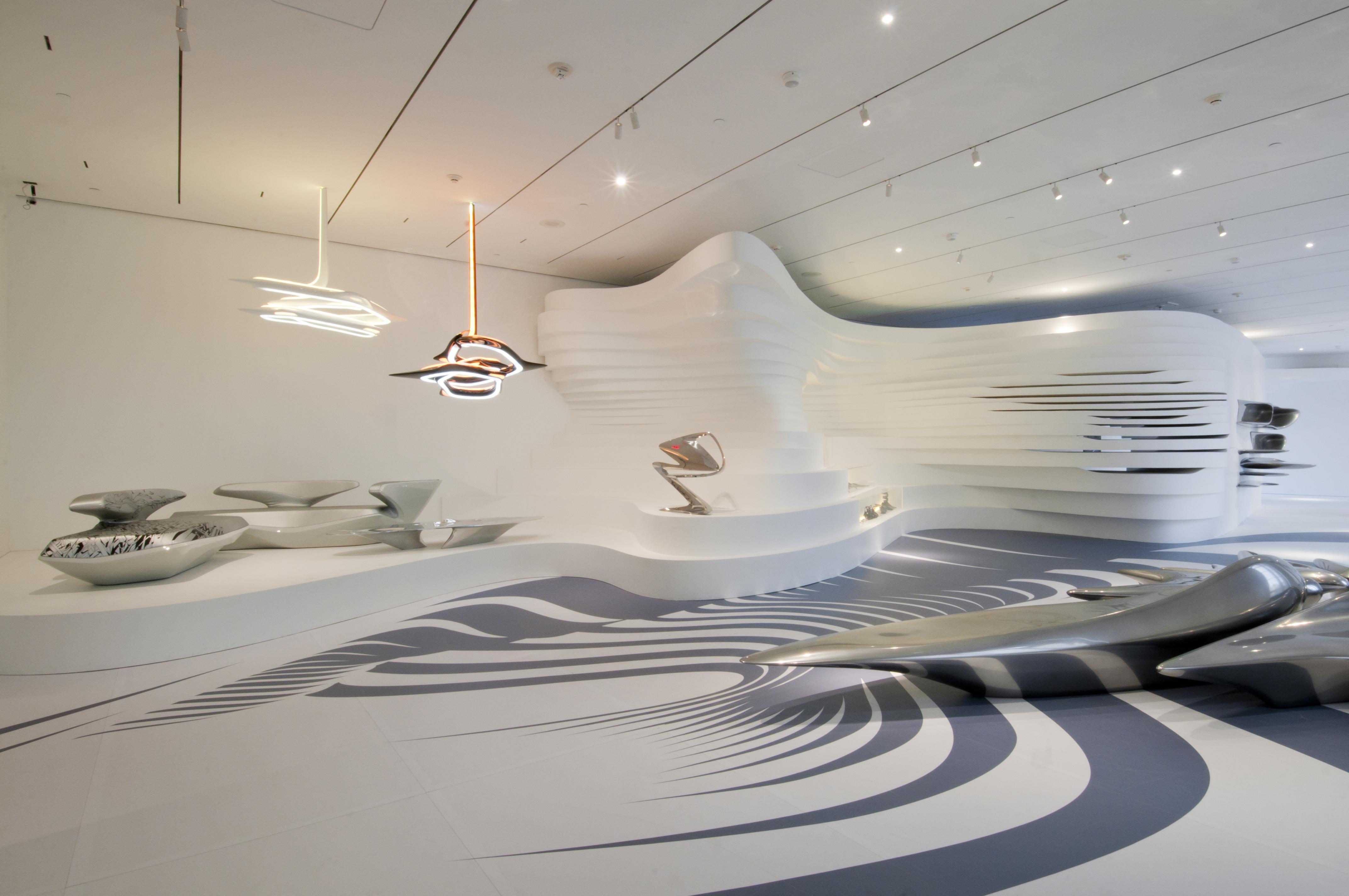 Future Architecture Zaha Hadid Futuristic Interior Zaha