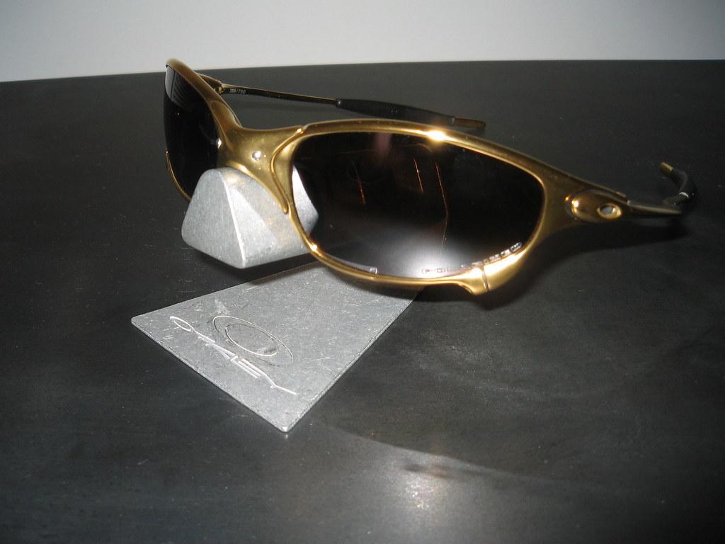 ccd69a80630 ... Oakley Juliet® Limited 24K w Titanium Iridium Polarized