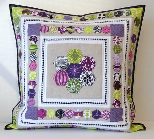Hexed In Pillow - The Finish!