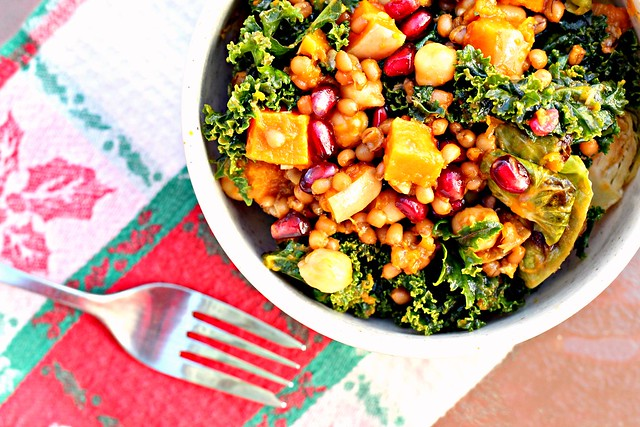 Roasted Butternut Squash And Chickpea Wheatberry Salad Recipes ...