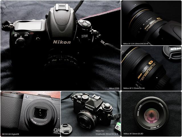 攝影器材們 2012年版
