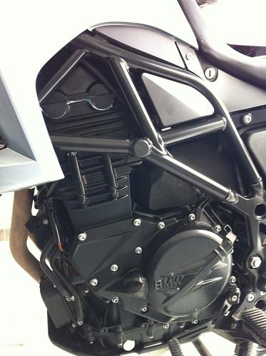 Motor de la BMW F650GS