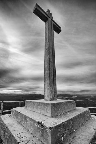 Posición Alto de la Cruz (Bezas, Teruel)