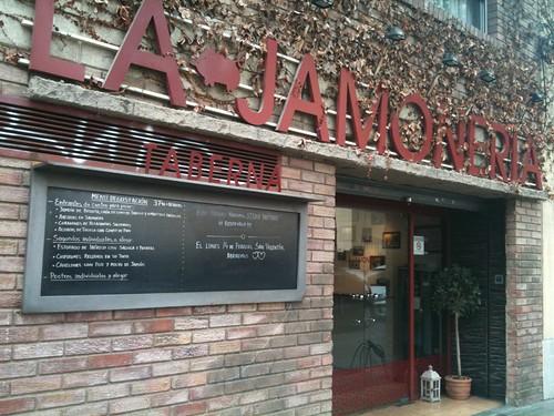 Zaragoza | La Jamonería | Entrada