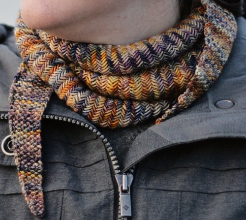 Detail - Willamette Scarf