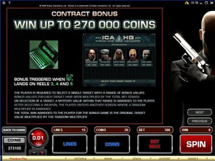 Hitman Bonus Game