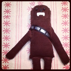 My sister made a chewbacca for her son.