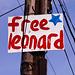 Free Leonard Peltier Sign, El Cerrito, CA