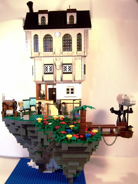 Prof. OnePint's Home & Laboratory