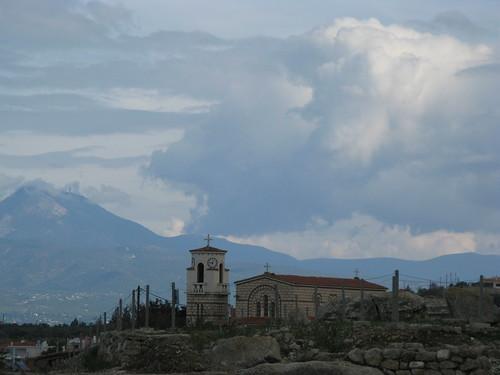 vacation mountains church corinth iglesia greece grecia église grèce corinthe corinto ελλάδα κόρινθοσ