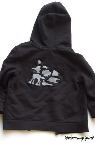 Star Wars Toddler Sweatshirt - back