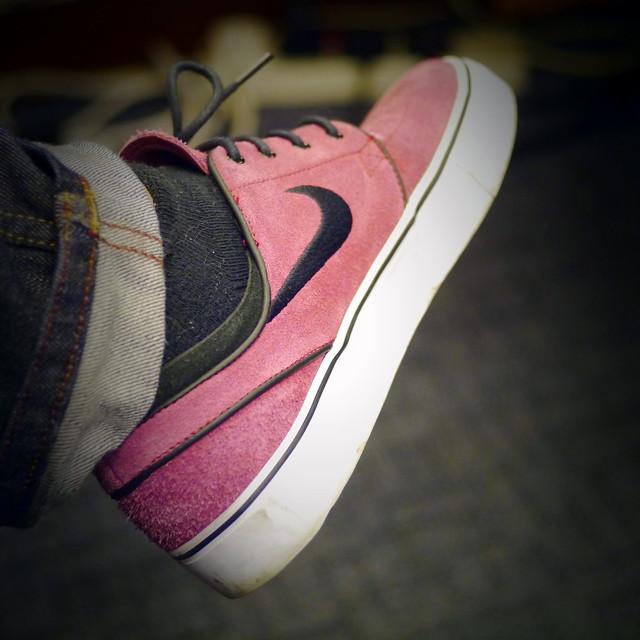 Janoski Nike Sb Men Skate Shoe Modeled