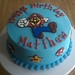 Matthew's Mario cake