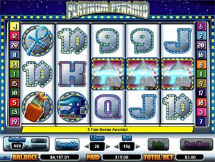 Platinum Pyramid free spins