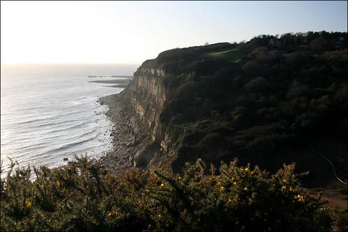 The coast east of Hastings