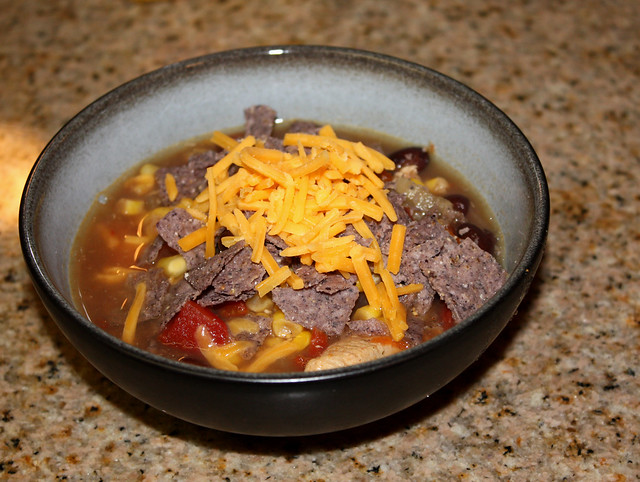 Quick & Easy Tortilla Soup
