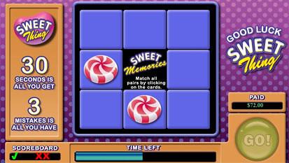 Sweet Thing bonus game