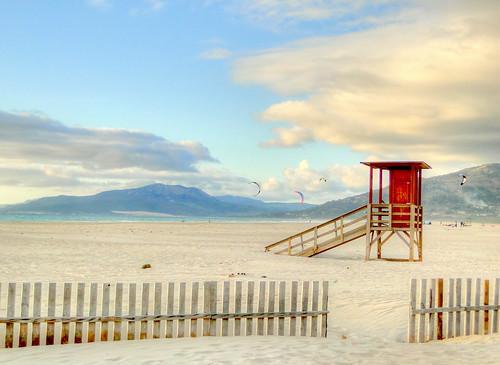 Playa de los Lances, Tarifa by Clickor