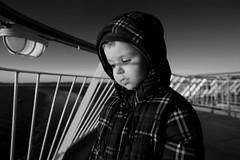 [フリー画像素材] 人物, 子供 - 男の子, モノクロ, 人物 - 憂鬱, ノルウェー人 ID:201201082200