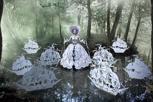 Kirsty Mitchell - Wonderland 'The Queen's Armada'