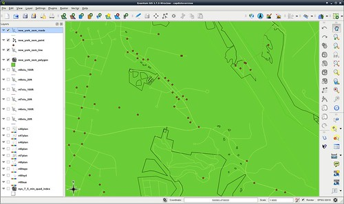 Right after loading OSM data into QGIS