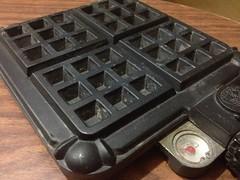 Cast Iron Waffle Maker by mikeysklar