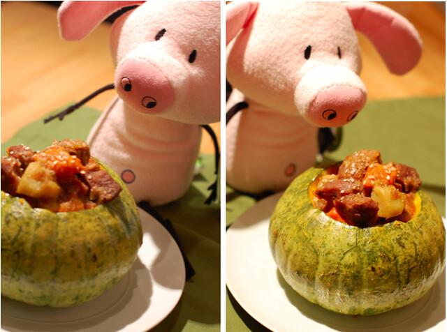 Pig likes pork