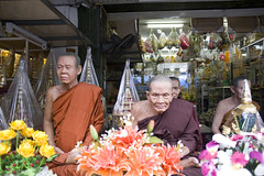 life-size plastic statues of monks for sale, bangkok